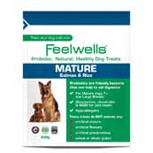 Feelwells Probiotic Mature Dog Treats (Online Only)