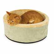 Thermo-Kitty Bed Small Sage 41cm (Online Only)
