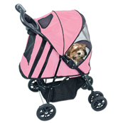 Pet Gear Happy Trails Stroller Pink (Online Only)