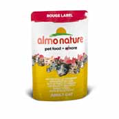 Almo Nature Rouge Label Cat Chicken Fillet and Cheese (Online Only)