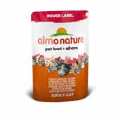 Almo Nature Rouge Label Cat Chicken Fillet and Surimi (Online Only)