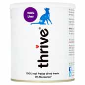Thrive 100% Chicken Liver Cat Treats (Online Only)