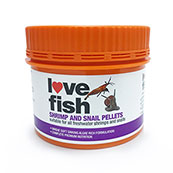 Love Fish Shrimp / Snail Food Pellets 50g