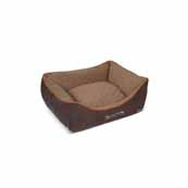 Scruffs Thermal Box Bed Small Brown(Online Only)