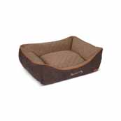 Scruffs Thermal Box Bed Medium Brown(Online Only)