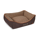 Scruffs Thermal Box Bed Large Brown (Online Only)