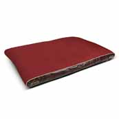 Scruffs Hilton Memory Foam Orthopaedic Mattress Large Burgandy(Online Only)