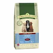 James Wellbeloved Dog Fish and Rice Adult Large Breed 4kg (Online Only)