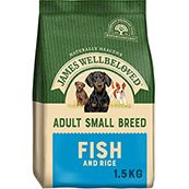 James Wellbeloved Fish and Rice Small Breed Dog Food (Selected Stores and Online)