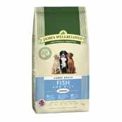James Wellbeloved Fish and Rice Junior Large Breed 4kg (Online Only)