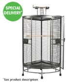 Rainforest Cages Montreal Tall Corner Antique Cage (Online Only)