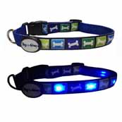 DogEGlow Blue Collar Large (Online Only)