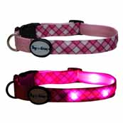 DogEGlow Pink Collar Large (Online Only)