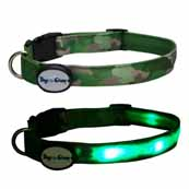 DogEGlow Green Collar Medium (Online Only)