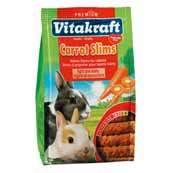 Vitakraft Carrot Slims Rabbit Treats 50g (Online Only)