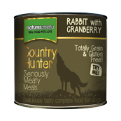Nature's Menu Country Hunter Rabbit with Cranberry Adult Dog Food 600g (Selected Stores and Online)