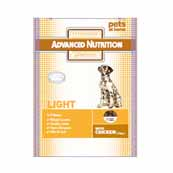 Advance Nutrition Light Dog Food With Joint Care 2.5kg