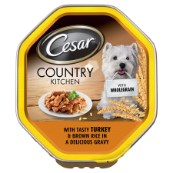 Cesar Wholegrain With Turkey in Gravy 150g