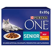 Purina One Senior Wet Chicken and Beef