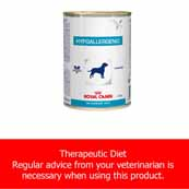 Royal Canin Vet Diet Hypoallergenic Clinical Canine Wet 12 x 400g (Online Only)