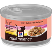 Hill's Ideal Balance Feline Salmon Can 82g