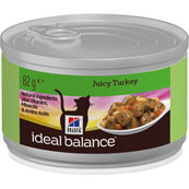 Hills Ideal Balance Feline Turkey Can