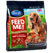 HiLife FEED ME! Something special with Beef and Chicken 800g