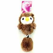 Small Ball Owl Dog Toy