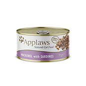Applaws Cat Pacific Mackerel and Sardine 70g