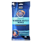 Antibacterial Wooden Hutch Wipes with Byotrol 10 Pack
