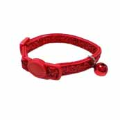 Glitter Cat Collar Red