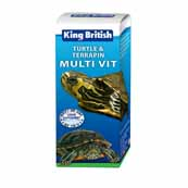 King British Turtle and Terrapin Multi Vitamin 20ml (Online Only)