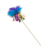 Baby Bea Tinsel Feather Kitten Toy