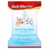 Bob Martin Eye and Ear Wipes 30 Pack (Online Only)