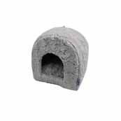 RSPCA Plush Igloo Grey Cat Bed