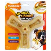 Nylabone Romp N Chomp Dog Triple Treat