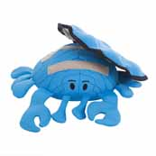 Kyjen Crab Rip Shell Dog Toy