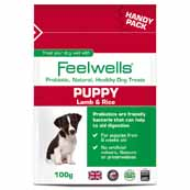 Feelwells Probiotic Puppy Treats 100g