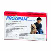 Program 67.8mg Small Dog Flea Treatment 6 Tablets (Online Only)
