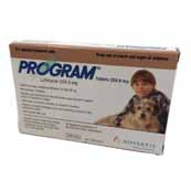 Program 204.9mg Medium Dog Flea Treatment 6 Tablets (Online Only)