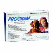 Program 409.8mg Large Dog Flea Treatment 6 Tablets (Online Only)