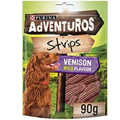 Adventurous Strips 90g Dog Treat