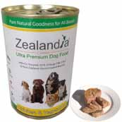 Zealandia Chicken and Vegetables with Green-Lipped Mussel Natural Dog Food 390g (Online Only)