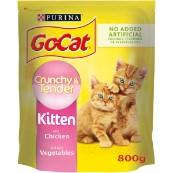 Go Cat Go-Cat Crunchy and Tender Kitten 800g Cat Food