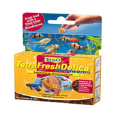 Tetra Delica Fresh Bloodworm Fish Treat 16 x 3g
