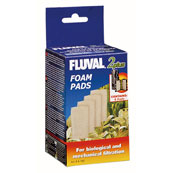 Fluval 2+ Underwater Filter Replacement Foam 4 Pack
