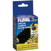 Fluval 2+ Carbon Pads for Aquafish Aquarium