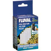 Fluval 2+ Polyester Pads for Aquafish Aquarium