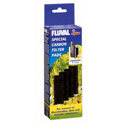 Fluval 3+ Underwater Filter Carbon Pads 4 Pack