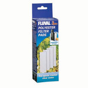 Fluval 3+ Underwater Filter Polyester Pads 4 Pack